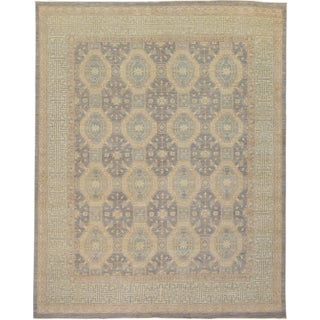 "Modern Turkish Oushak Rug - 8'10"" x 10'2"""