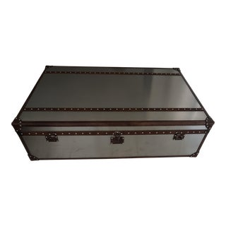 Restoration Hardware Mayfair Steamer Trunk Extra Large Coffee Table