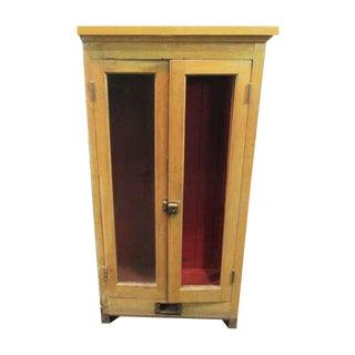 Antique Flush Mount Cabinet