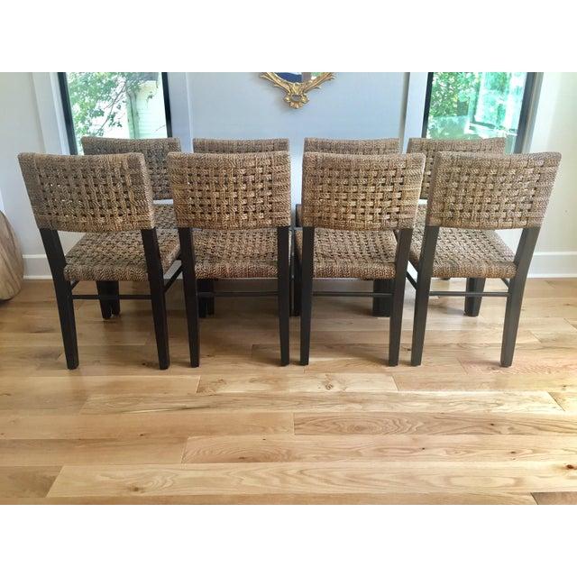 Palecek Panamawood Dining Chair   Set of 8   Image 3 of 9Palecek Panamawood Dining Chair   Set of 8   Chairish. Palecek Dining Chairs. Home Design Ideas