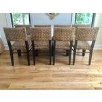 Image of Palecek Panamawood Dining Chair - Set of 8
