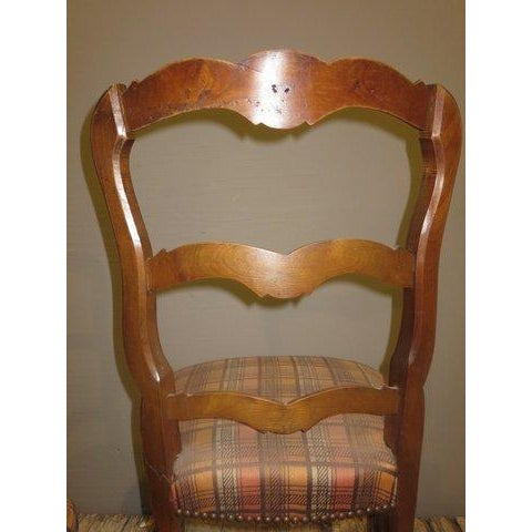 Antique 1900's French Country Side Chairs - Pair - Image 8 of 8