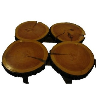 Custom Pine Tree Coffee Table