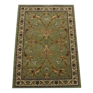 Persian Traditional Green Rug - 8′ × 11′