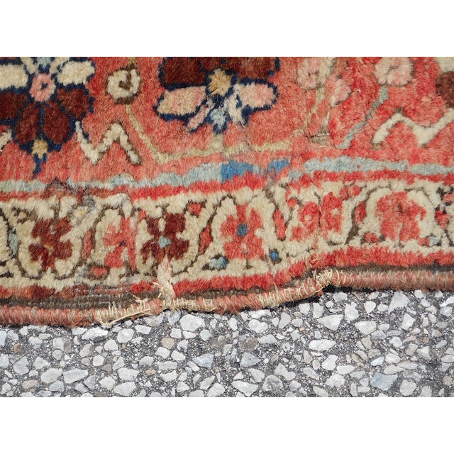 Antique Persian Kurdish Oriental Rug - 4′ × 7′5″ - Image 8 of 9