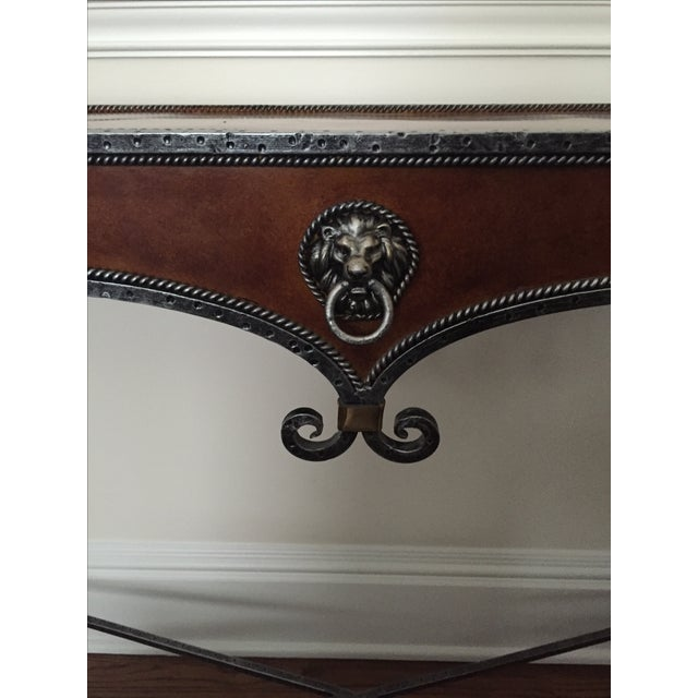 Gilded Iron Console - Image 5 of 6