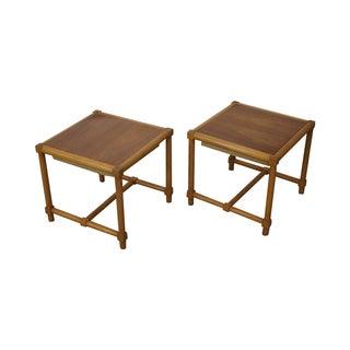 Tommi Parzinger Stools Reverse Top Tables - Pair