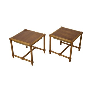 Tommi Parzinger Stools Reverse Top Tables - Pair