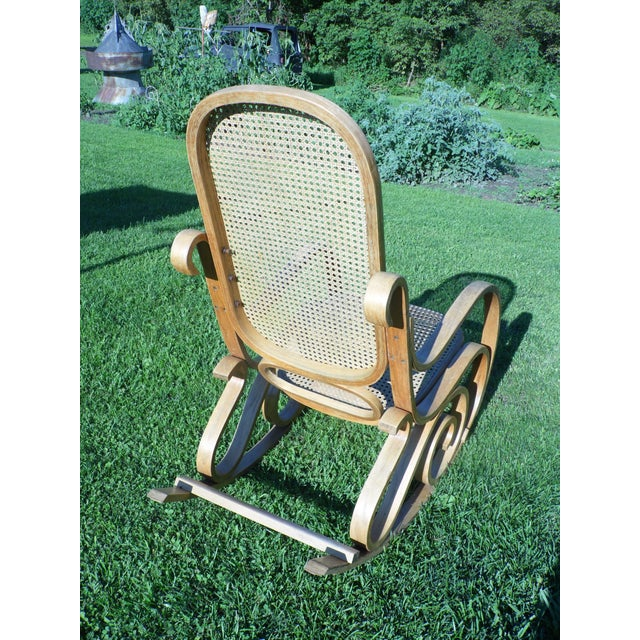 Image of Bentwood Thonet Style Rocking Chair