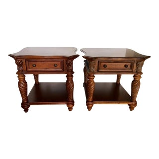 Vineyard Furniture Side Tables - A Pair