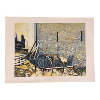 "Howard Koslow ""Retired"" Lithograph"