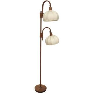 Mid-Century Teak Floor Lamp