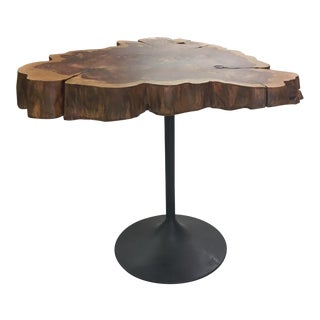 Live Edge Table on Tulip Base