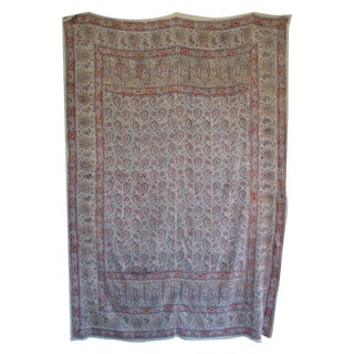 Boho Chic Paisley Bed Throw or Tablecloth