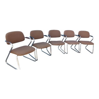 Harter Contract 1970s Office Chairs - Set of 5