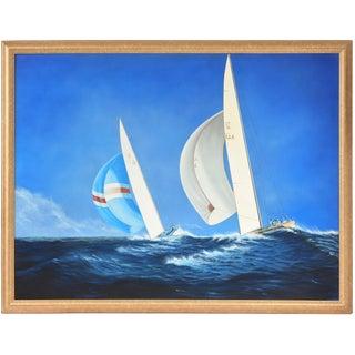 """Celebrity"" Nautical Painting by Gabriel Duarte"