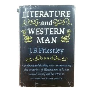 "1960 ""Literature & Western Man"" J.B. Priestley Book"