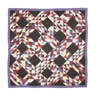 Americana Geometric Quilt
