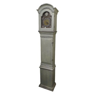 Tall Antique Swedish Clock