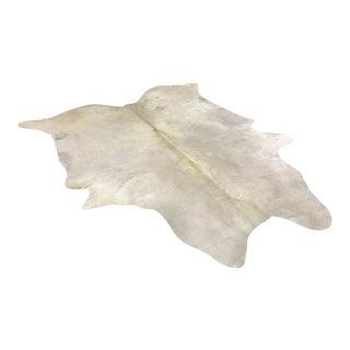 Forsyth Rare Ivory Cowhide Rug