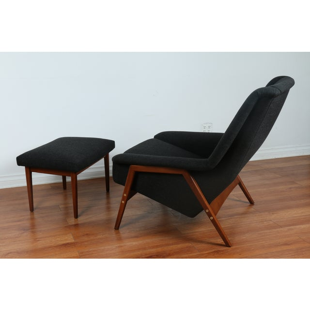 Dux Chair and Ottoman by Folke Ohlsson - Image 11 of 11