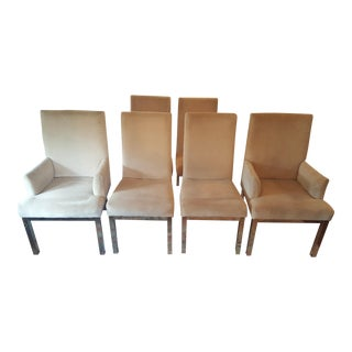 Milo Baughman Dining Chairs - Set of 6