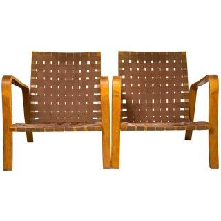 Thonet Arm Chairs - Pair