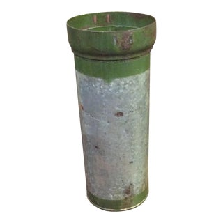 Green Metal Ammo Canister