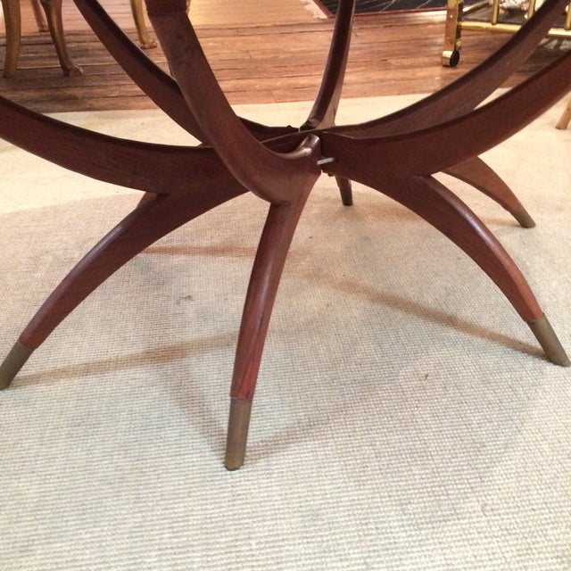 Image of Oblong Brass Tray Coffee Table