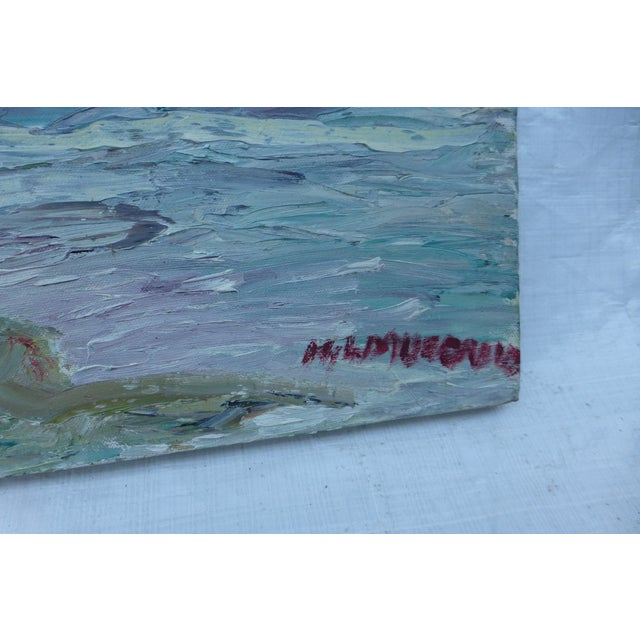 Abstract Beach Painting by H.L. Musgrave - Image 6 of 7