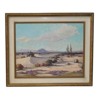 Desert Landscape by Ralph Lytle C.1940