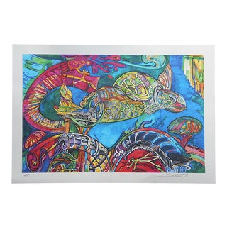 "Pencil Signed Ltd. Ed. Digital Print by S. Nedelman From ""The Cosmic Suite""-Artist's Proof"