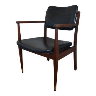 Gregson Mid-Century Modern Arm Chair