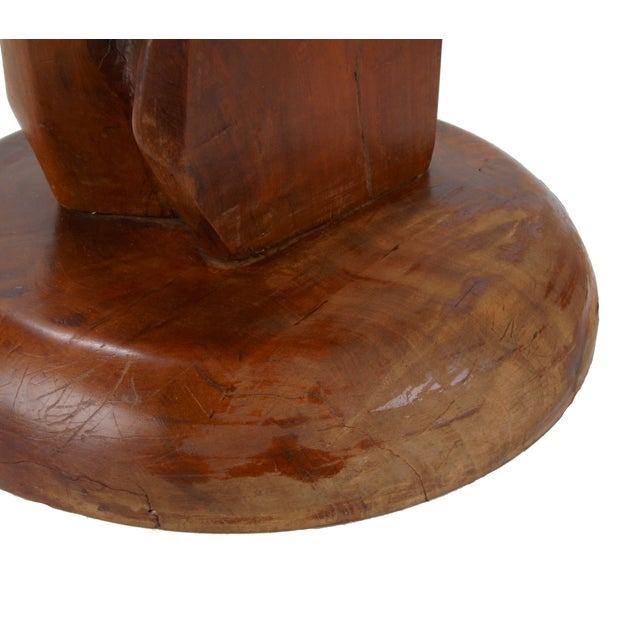 Image of Solid Wood Table Lamp