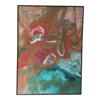 1965 Abstract Orignal Oil Painting