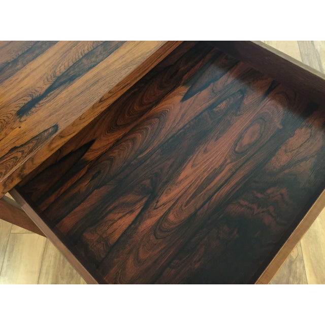Brode Blindheim Rosewood End Table - Image 9 of 9