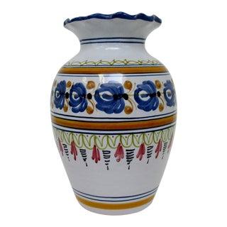 Hand-Painted Talavera Vase