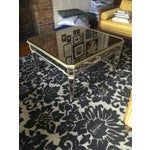 Image of Horchow Mirrored Coffee Table