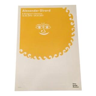 Modern Alexander Girard Sun Print