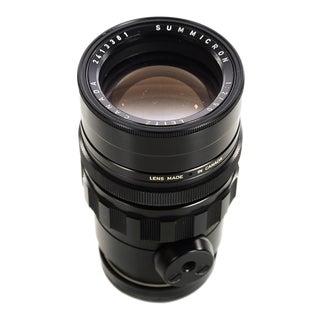 Vintage Leica M Portrait Lens Leitz Canada 90mm F:2 Summicron Black