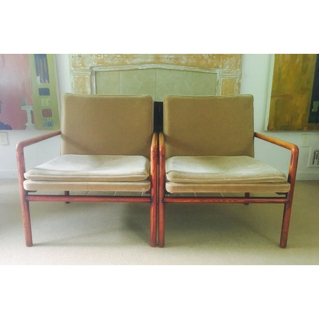 Mid Century Lounge Chairs - a Pair - Image 3 of 11