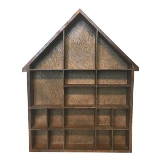 House Shaped Shadow Box