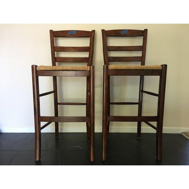 Pottery Barn Contemporary Bar Stools A Pair Chairish