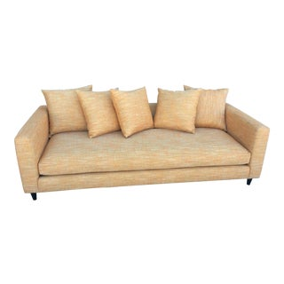 Modern Orange Lounge Sofa