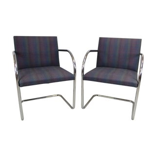 Ludwig Van Der Rohe BRNO Chairs - A Pair