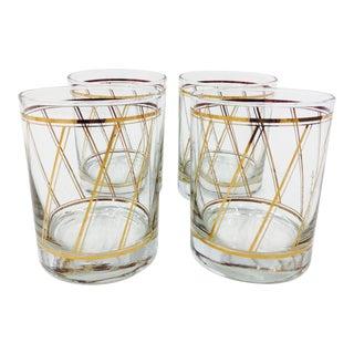 Vintage Briard Cocktail Glasses - Set of 4