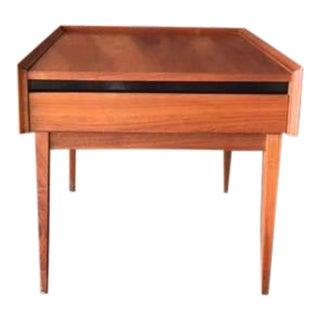 Mid-Century Walnut Esprit Side Table by Dillingham