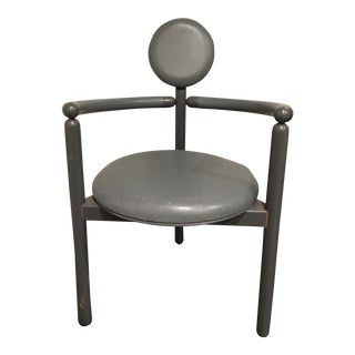 Vico Magistretti Gray Pan-Set Chair for Rosenthal