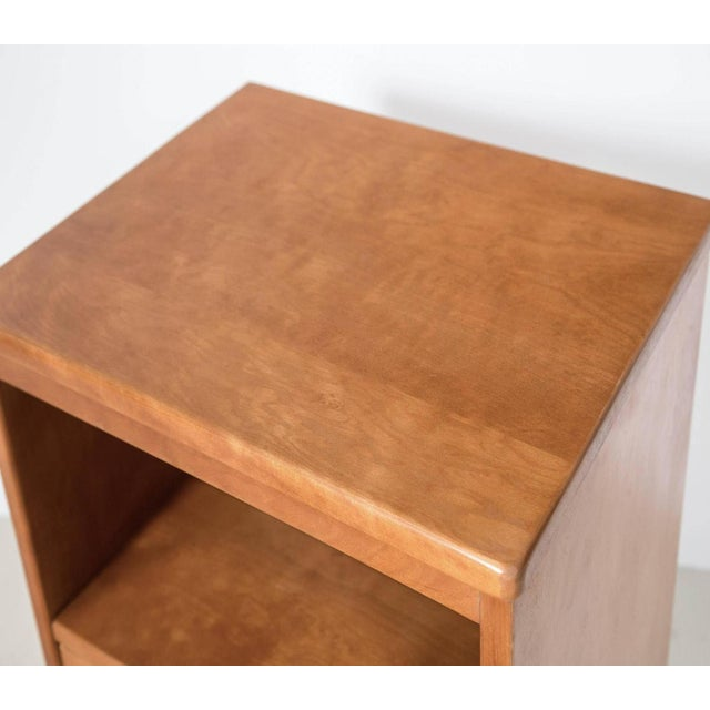 Maple Wood Nightstands - a Pair - Image 4 of 9