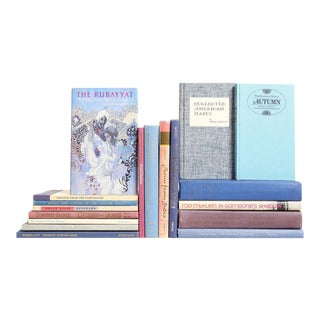 Shades of Verse Books in Lavender & Periwinkle, S/20